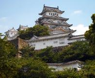 城堡姬路日本 免版税图库摄影