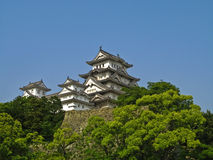 城堡姬路日本 免版税库存照片