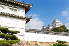 城堡姬路日语 免版税图库摄影