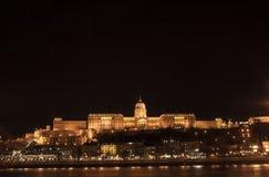 城堡宫殿在布达佩斯 免版税库存照片