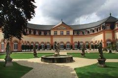 城堡宫殿weilburg 免版税库存图片