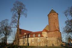 城堡小的波兰 免版税库存图片