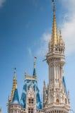城堡尖塔 库存图片