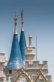 城堡尖塔 免版税库存照片