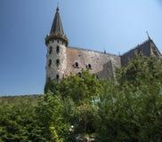 城堡屋顶 免版税库存照片