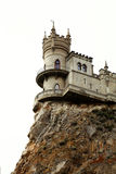 城堡峭壁 库存照片