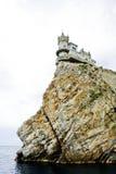 城堡峭壁 图库摄影