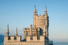 城堡嵌套s燕子 图库摄影