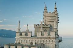 城堡嵌套s燕子 免版税库存照片