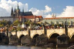 城堡布拉格 免版税库存图片