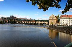 城堡布拉格 免版税库存照片