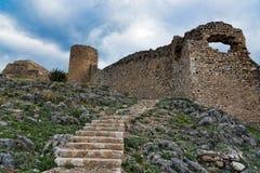 城堡希腊 免版税库存图片