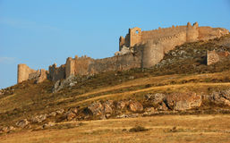 城堡希腊larisa 库存图片