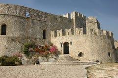 城堡希腊napflion 免版税库存照片