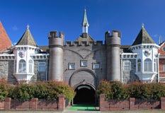 城堡幻想庭院 免版税库存图片