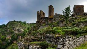 城堡废墟(法国) 库存照片