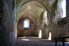 城堡废墟 库存图片