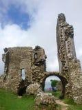 城堡废墟 库存照片
