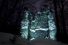 城堡废墟 图库摄影