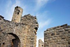 城堡废墟 免版税图库摄影