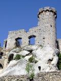 城堡废墟 免版税库存照片