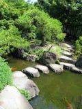城堡庭院姬路石头结构 免版税图库摄影