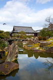 城堡庭院日本人nijo 免版税库存图片