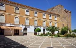 城堡庭院,卡夫拉 免版税库存图片