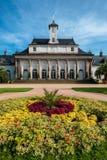 城堡庭院pillnitz 图库摄影