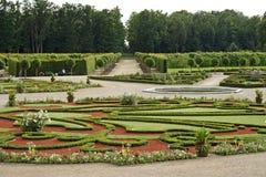 城堡庭院rundale 免版税图库摄影