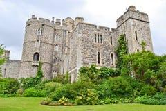 城堡庭院windsor 免版税库存照片