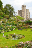 城堡庭院windsor 免版税图库摄影