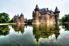 城堡德哈尔荷兰 免版税图库摄影