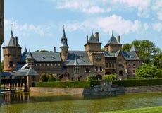 城堡德哈尔,位于乌得勒支省  图库摄影