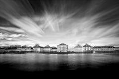 城堡德国慕尼黑nymphenburg 免版税图库摄影