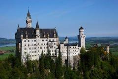 城堡德国 免版税图库摄影