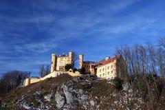城堡德国hohenschwangau 免版税库存图片