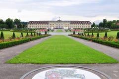 城堡德国ludwigsburg 免版税库存图片