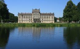 城堡德国ludwigslust 库存图片