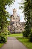城堡德国marienburg 库存照片