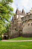 城堡德国marienburg 免版税库存图片
