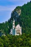城堡德国neuschwanstein 库存照片