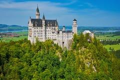 城堡德国neuschwanstein 免版税库存图片