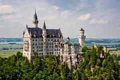 城堡德国neuschwanstein 库存图片