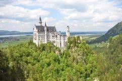 城堡德国neuschwanstein 图库摄影