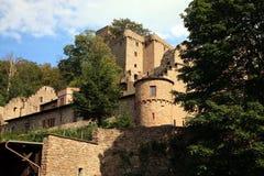 城堡德国schwarzwald 库存照片