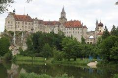 城堡德国sigmaringen 免版税库存图片