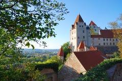 城堡德语 库存照片