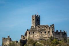 城堡德雷纳在特伦托自治省 库存图片