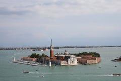 城堡意大利威尼斯水 免版税图库摄影